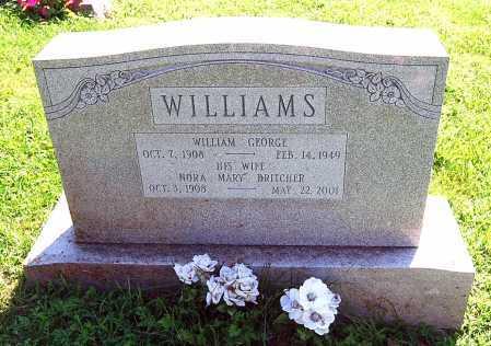 WILLIAMS, WILLIAM GEORGE - Juniata County, Pennsylvania | WILLIAM GEORGE WILLIAMS - Pennsylvania Gravestone Photos