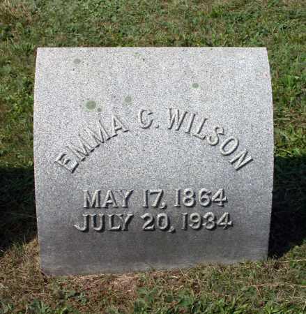 MCMEEN WILSON, EMMA CARIE - Juniata County, Pennsylvania | EMMA CARIE MCMEEN WILSON - Pennsylvania Gravestone Photos