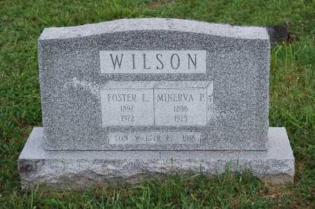 WILSON, MINERVA P. - Juniata County, Pennsylvania   MINERVA P. WILSON - Pennsylvania Gravestone Photos