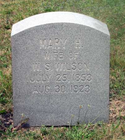 WILSON, MARY H. - Juniata County, Pennsylvania | MARY H. WILSON - Pennsylvania Gravestone Photos