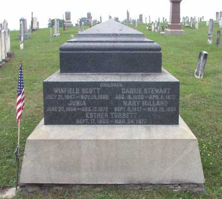 WILSON, MARY MILLARD - Juniata County, Pennsylvania | MARY MILLARD WILSON - Pennsylvania Gravestone Photos