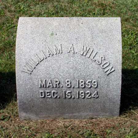 WILSON, WILLIAM AMBROSE - Juniata County, Pennsylvania | WILLIAM AMBROSE WILSON - Pennsylvania Gravestone Photos