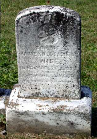 WISE, (INFANT) - Juniata County, Pennsylvania | (INFANT) WISE - Pennsylvania Gravestone Photos