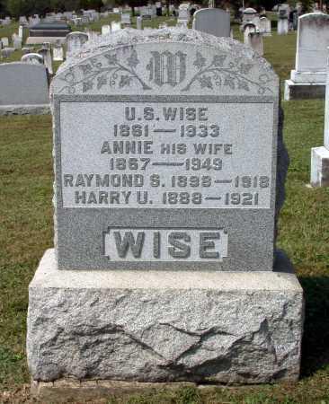 NEFF WISE, ANNIE - Juniata County, Pennsylvania | ANNIE NEFF WISE - Pennsylvania Gravestone Photos