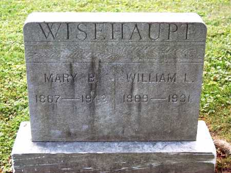 "WISEHAUPT, MARY B. ""MOLLIE"" - Juniata County, Pennsylvania | MARY B. ""MOLLIE"" WISEHAUPT - Pennsylvania Gravestone Photos"