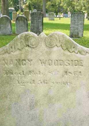 WOODSIDE, NANCY - Juniata County, Pennsylvania | NANCY WOODSIDE - Pennsylvania Gravestone Photos