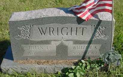WRIGHT, HELEN L. - Juniata County, Pennsylvania | HELEN L. WRIGHT - Pennsylvania Gravestone Photos