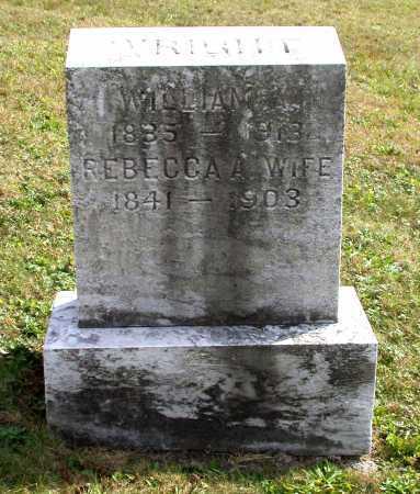 WRIGHT, WILLIAM A. - Juniata County, Pennsylvania | WILLIAM A. WRIGHT - Pennsylvania Gravestone Photos