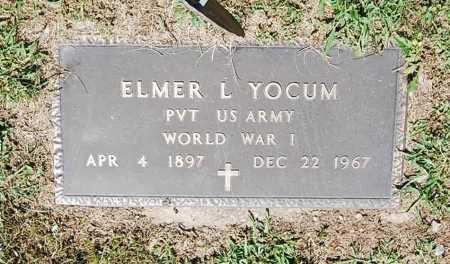 YOCUM, ELMER L. - Juniata County, Pennsylvania | ELMER L. YOCUM - Pennsylvania Gravestone Photos