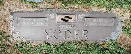 MOYER YODER, MARY PEARL - Juniata County, Pennsylvania | MARY PEARL MOYER YODER - Pennsylvania Gravestone Photos