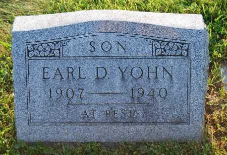 YOHN, EARL DAVID - Juniata County, Pennsylvania   EARL DAVID YOHN - Pennsylvania Gravestone Photos