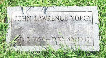 YORGY, JOHN LAWRENCE - Juniata County, Pennsylvania | JOHN LAWRENCE YORGY - Pennsylvania Gravestone Photos