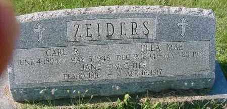 ZEIDERS, CARL R. - Juniata County, Pennsylvania | CARL R. ZEIDERS - Pennsylvania Gravestone Photos