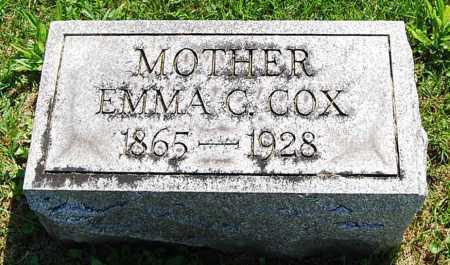 COX ZEIDERS, EMMA C. - Juniata County, Pennsylvania | EMMA C. COX ZEIDERS - Pennsylvania Gravestone Photos
