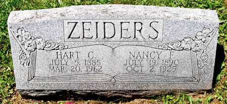 ZEIDERS, NANCY F. - Juniata County, Pennsylvania | NANCY F. ZEIDERS - Pennsylvania Gravestone Photos