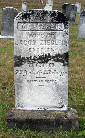 ZEIGLER, MARGARET - Juniata County, Pennsylvania   MARGARET ZEIGLER - Pennsylvania Gravestone Photos