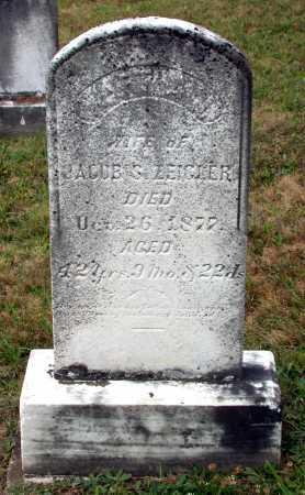 ZEIGLER, MARTHA J. - Juniata County, Pennsylvania | MARTHA J. ZEIGLER - Pennsylvania Gravestone Photos