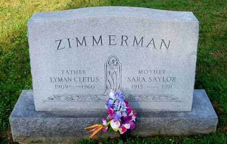 ZIMMERMAN, SARA E. - Juniata County, Pennsylvania | SARA E. ZIMMERMAN - Pennsylvania Gravestone Photos