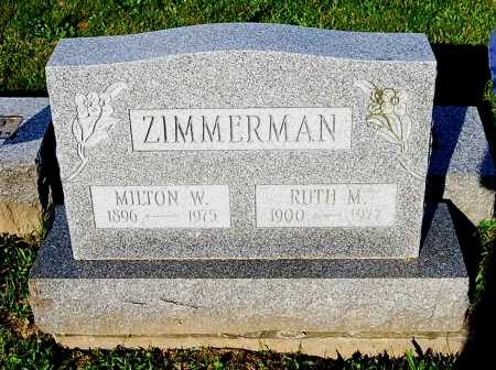 ZIMMERMAN, RUTH MAY - Juniata County, Pennsylvania | RUTH MAY ZIMMERMAN - Pennsylvania Gravestone Photos