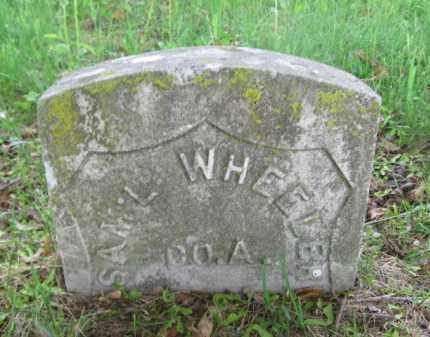 WHEELER (CW), SAMUEL - Lackawanna County, Pennsylvania | SAMUEL WHEELER (CW) - Pennsylvania Gravestone Photos