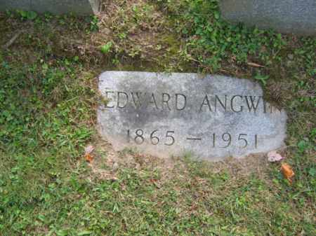 ANGWIN, EDWARD - Lackawanna County, Pennsylvania | EDWARD ANGWIN - Pennsylvania Gravestone Photos