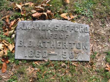 ATHERTON, AMANDA - Lackawanna County, Pennsylvania   AMANDA ATHERTON - Pennsylvania Gravestone Photos