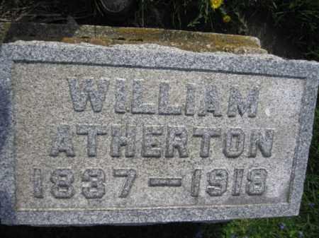 ATHERTON, WILLIAM - Lackawanna County, Pennsylvania | WILLIAM ATHERTON - Pennsylvania Gravestone Photos
