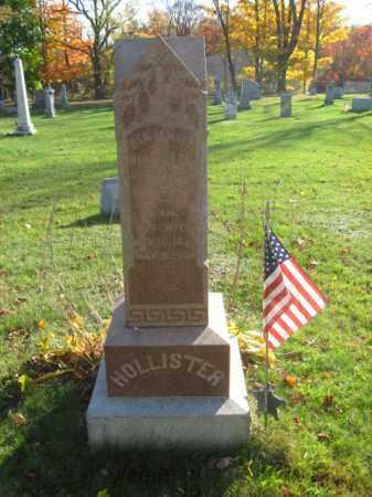 HOLLISTER (CW), BENJAMIN F. - Lackawanna County, Pennsylvania | BENJAMIN F. HOLLISTER (CW) - Pennsylvania Gravestone Photos