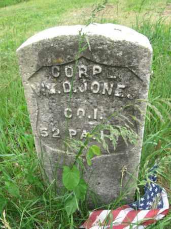 ` JONES (CW), WILLIAM D. - Lackawanna County, Pennsylvania | WILLIAM D. ` JONES (CW) - Pennsylvania Gravestone Photos