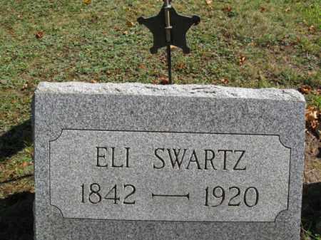 SWARTZ (CW), SGT.ELI - Lackawanna County, Pennsylvania | SGT.ELI SWARTZ (CW) - Pennsylvania Gravestone Photos