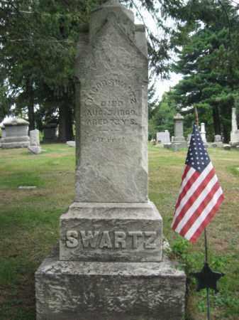 SWARTZ, JACOB - Lackawanna County, Pennsylvania   JACOB SWARTZ - Pennsylvania Gravestone Photos