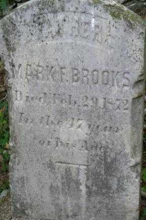 BROOKS, MARK F. - Lancaster County, Pennsylvania | MARK F. BROOKS - Pennsylvania Gravestone Photos