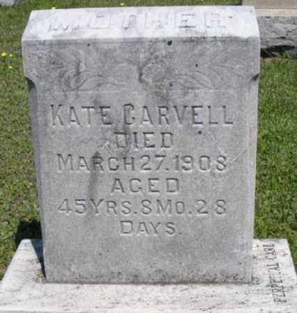 DITZLER CARVELL, KATE W - Lancaster County, Pennsylvania | KATE W DITZLER CARVELL - Pennsylvania Gravestone Photos