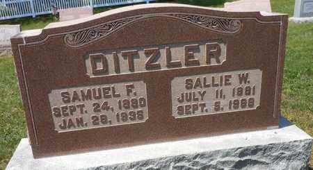 DITZLER, SAMUEL FASNACHT - Lancaster County, Pennsylvania | SAMUEL FASNACHT DITZLER - Pennsylvania Gravestone Photos