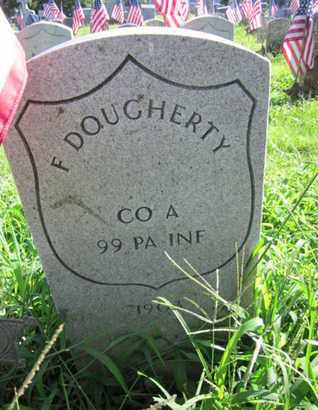 DOUGHERTY (CW), FRANCIS - Lancaster County, Pennsylvania | FRANCIS DOUGHERTY (CW) - Pennsylvania Gravestone Photos