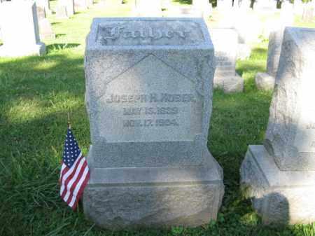 HUBER (CW), JOSEPH H. - Lancaster County, Pennsylvania | JOSEPH H. HUBER (CW) - Pennsylvania Gravestone Photos