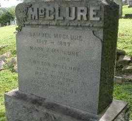 MCCLURE, FAMILY - Lancaster County, Pennsylvania | FAMILY MCCLURE - Pennsylvania Gravestone Photos