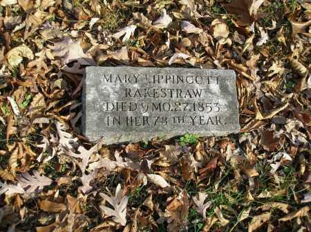 RAKESTRAW, MARY LIPPINCOTT - Lancaster County, Pennsylvania   MARY LIPPINCOTT RAKESTRAW - Pennsylvania Gravestone Photos