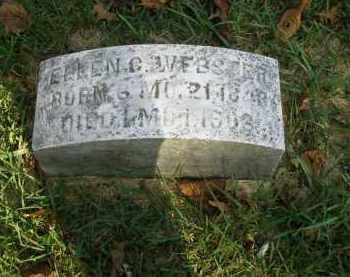 WEBSTER, ELLEN G - Lancaster County, Pennsylvania | ELLEN G WEBSTER - Pennsylvania Gravestone Photos