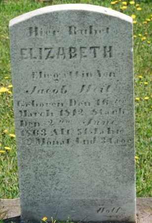 BECKER WEIT, ELIZABETH - Lancaster County, Pennsylvania | ELIZABETH BECKER WEIT - Pennsylvania Gravestone Photos