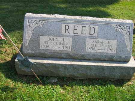 PHILLIPS REED, SARAH M. - Lebanon County, Pennsylvania | SARAH M. PHILLIPS REED - Pennsylvania Gravestone Photos