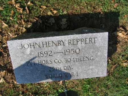REPPERT, JOHN HENRY - Lebanon County, Pennsylvania | JOHN HENRY REPPERT - Pennsylvania Gravestone Photos