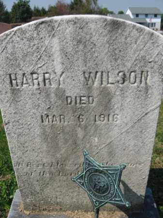 WILSON, HARRY - Lebanon County, Pennsylvania   HARRY WILSON - Pennsylvania Gravestone Photos