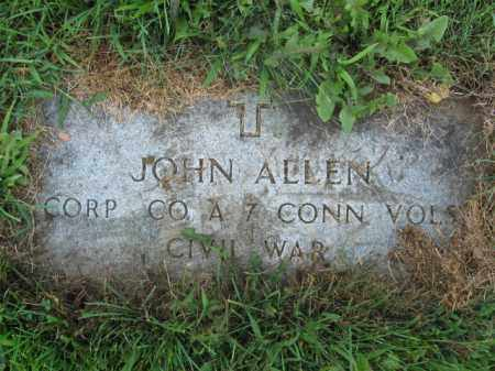ALLEN  (CW), CORP.JOHN - Lehigh County, Pennsylvania   CORP.JOHN ALLEN  (CW) - Pennsylvania Gravestone Photos