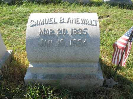 ANEWALT (CW), SAMUEL B. - Lehigh County, Pennsylvania | SAMUEL B. ANEWALT (CW) - Pennsylvania Gravestone Photos