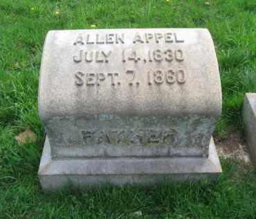 APPEL, ALLEN - Lehigh County, Pennsylvania | ALLEN APPEL - Pennsylvania Gravestone Photos
