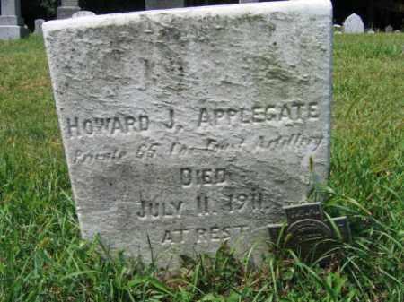APPLEGATE, HOWARD J. - Lehigh County, Pennsylvania   HOWARD J. APPLEGATE - Pennsylvania Gravestone Photos