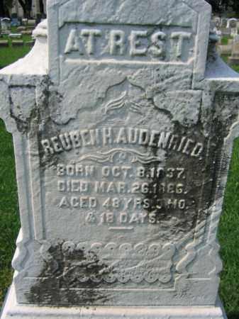 AUDENRIED, REUBEN H. - Lehigh County, Pennsylvania | REUBEN H. AUDENRIED - Pennsylvania Gravestone Photos