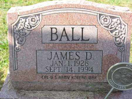 BALL, JAMES D. - Lehigh County, Pennsylvania | JAMES D. BALL - Pennsylvania Gravestone Photos