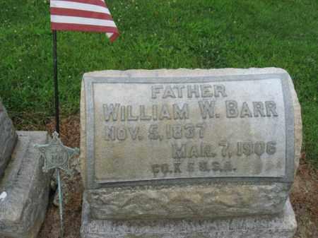 BARR (CW), PVT.WILLIAM  W. - Lehigh County, Pennsylvania | PVT.WILLIAM  W. BARR (CW) - Pennsylvania Gravestone Photos